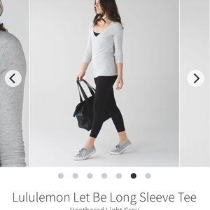 Lululemon Let Be Long Sleeve 6